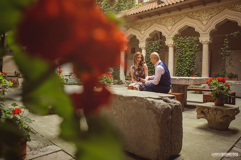 Fotografii engagement - Catalina & Robert, Centru Vechi, Bucuresti | Marius Dobrescu - Fotograf nunta