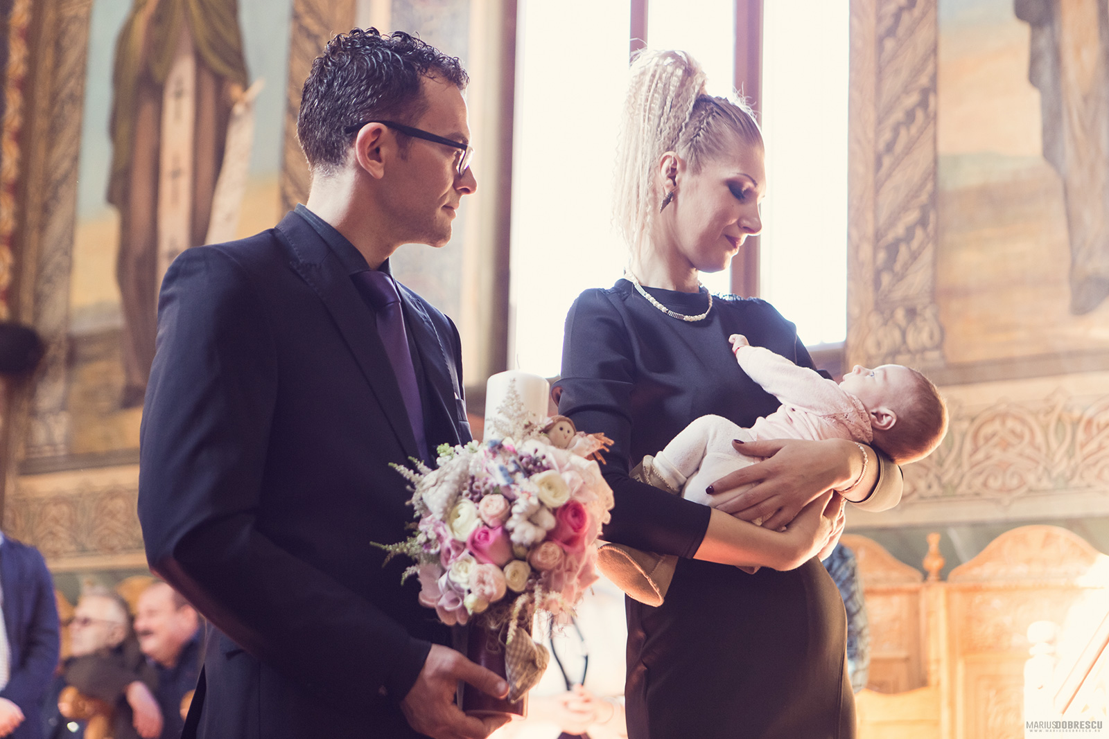 Fotografii botez Bucuresti - Antonia-Maria | Marius Dobrescu - Fotograf nunta