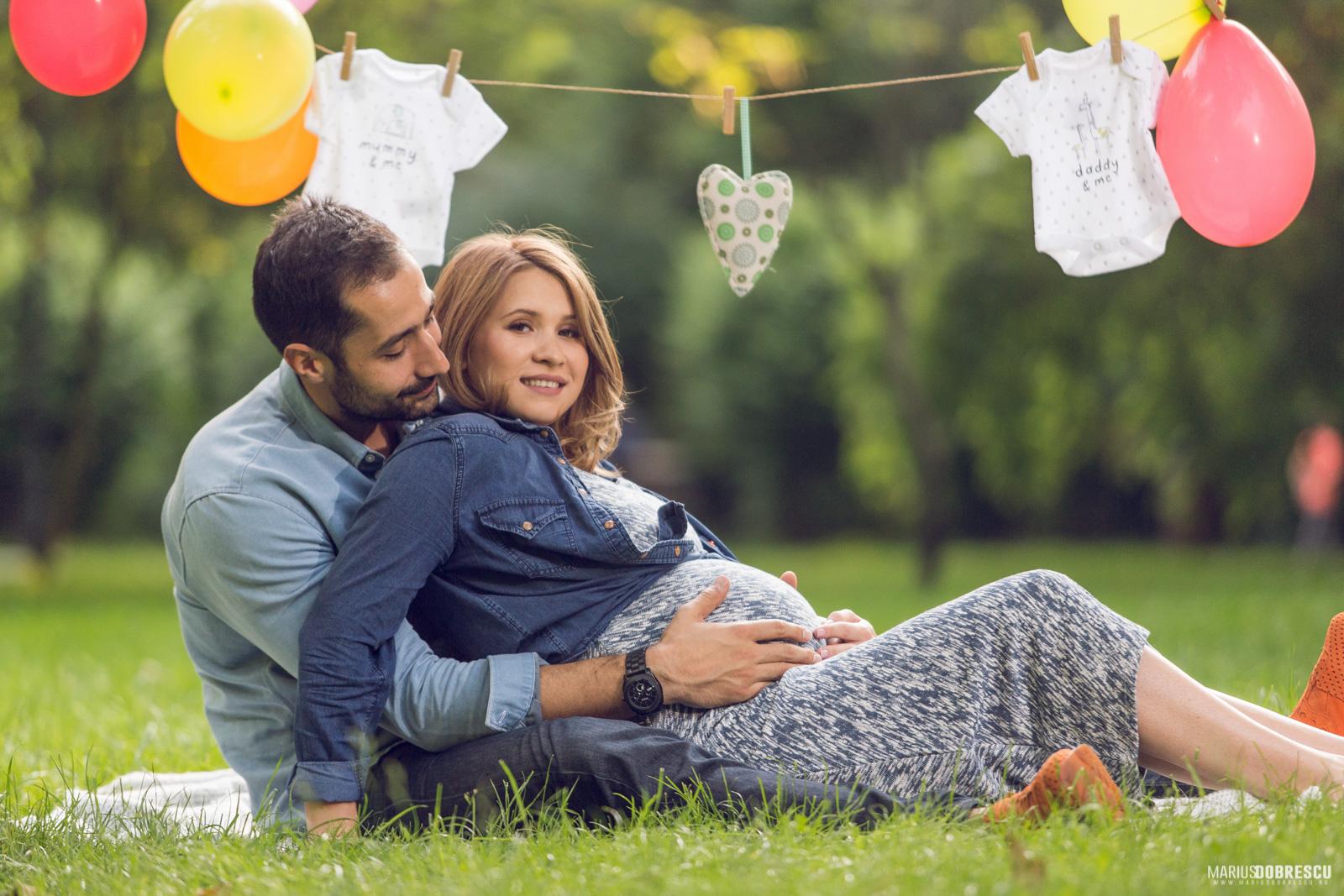 Sedinta foto graviduta Bucuresti - Lucia & Horia | Marius Dobrescu - Fotograf Nunta